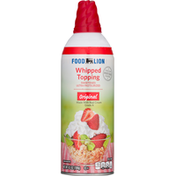 Food Lion Whipped Topping, Original, Sweetened