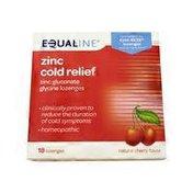 Equaline Zinc Cold Relief Lozenges