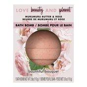 Love Beauty & Planet Bath Bomb Murumuru Butter & Rose