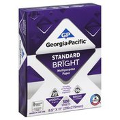 Georgia-Pacific Standard Bright, Multipurpose Paper, 20lb, Shrink Wrapped