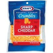 Kraft Sharp Cheddar Cheese Crumbles