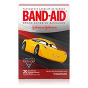 Band-Aid Brand Adhesive Bandages Featuring Disney/Pixar Cars 3, Assorted Sizes