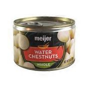 Meijer Whole Water Chestnuts