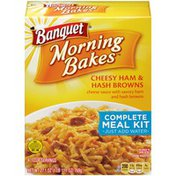 Banquet Cheesy Ham & Hash Browns Complete Meal Kit