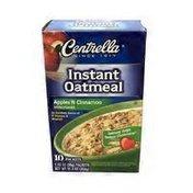 Centrella Apple & Cinnamon Instant Oatmeal