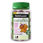 Children's Robitussin Naturals Cough Relief Immunity Gummies, Naturals Cough Relief Immunity Gummies