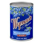 Wyman's Of Maine Wild Blueberries In Water