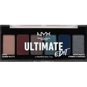 NYX Professional Makeup Shadow Palette, Petite, Ash USPP04
