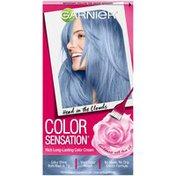 Color Sensation 8.10 Head in the Clouds (Light Blue) Garnier Color Sensation Rich Long-Lasting Color Cream 8.10 Head in the Clouds