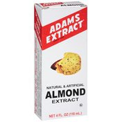 Adams Natural & Artificial Almond Extract