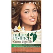 Clairol Natural Instincts Non-Permanent Hair Color Crema Keratina Hair Color Light Golden Brown 6G Caramel Creme 1 Kit Female Hair Color
