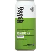 Better Booch Kombucha, Ginger Boost