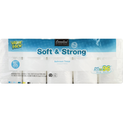 Essential Everyday Bathroom Tissue, Mega Roll, Two Ply, Value Pack
