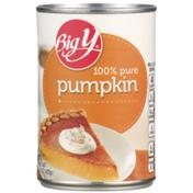 Big Y 100% Pure Pumpkin