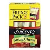 Sargento Light String Cheese Fridge Pack - 18 CT