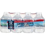 Crystal Geyser Alpine Spring Water Alpine Spring Water, Natural, 12 Pack