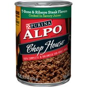Purina Wet Dog Food, Chop House T-Bone & Ribeye Steak Flavors