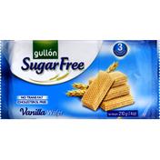Gullon Wafer, Sugar Free, Vanilla