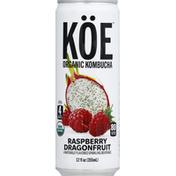 Koe Kombucha, Organic, Raspberry Dragonfruit