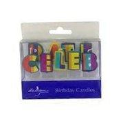 Design Design Celebrate Stripes Birthday Candle Set