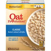 Better Oats Classic with Flax Instant Oatmeal