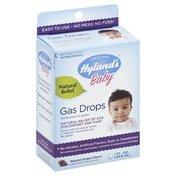 Hyland's Gas Drops, Natural Grape Flavor, Baby, Box
