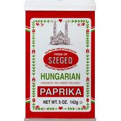 Pride of Szeged Paprika, Hungarian