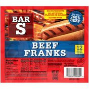 Bar-S Beef Franks