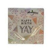 Design Design Spectrum Birthday Yay Beverage Napkins