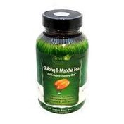Irwin Naturals Triple-action Oolong & Matcha Concentrated Tea Extracts Calorie Burner Dietary Supplement Liquid Soft-gels