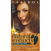 Clairol Natural Instincts Non-Permanent Color, Amber Shimmer Lightest Golden Brown 6.5G