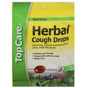 TopCare Herbal Menthol Cough Suppressant/oral Pain Reliever Cough Drops