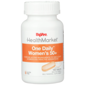 Hy-Vee Healthmarket, One Daily Women'S 50+ Multivitamin & Multimineral Supplement Tablets