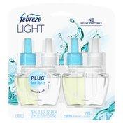 Febreze LIGHT Fade Defy PLUG Air Freshener, Sea Spray