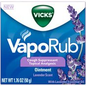 Vaporub Lavender Scented Chest Rub Ointment for Relief from Cough, Cold, Aches and Pains