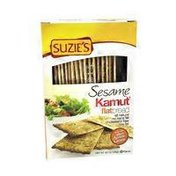 Suzie's Flat Breads, Sesame Topping