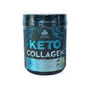 Ancient Nutrition KETOCOLLAGEN COLLAGEN 10 g Superfood with Collagen Peptides and Coconut MCTs WHOLE FOOD DIETARY SUPPLEMENT Powder, Vanilla