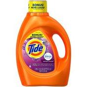 Tide Plus Febreze Freshness Spring and Renewal Scent Liquid Laundry Detergent, 100 oz, 52 loads Laundry