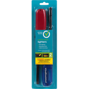 Simply Done Lighters, Combo Pack, 2 Pack
