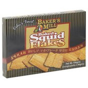 Baker's Mill Squid Flakes, Baked
