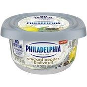 Philadelphia Cracked Pepper & Olive Oil Cream Cheese Spread