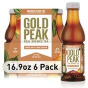 Gold Peak Peach Flavored Iced Tea Drink