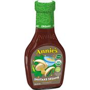 Annie's Shiitake Sesame Vinaigrette Salad Dressing, Non-GMO