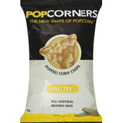PopCorners Popped Corn Chips, Butter