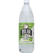 Polar Tonic Water, Premium, with Lime