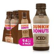 Dunkin' Donuts Mocha Iced Coffee Bottles