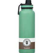 Haven & Key Tumbler, Stainless Steel, Sage, 40 Ounce