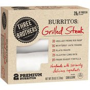 El Monterey Grilled Steak Burritos