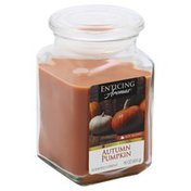 Enticing Aromas Candle, Scented, Autumn Pumpkin
