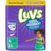Luvs Super Absorbent Leakguards Newborn Diapers